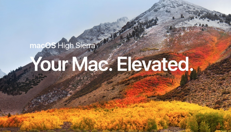 Apple Seeds macOS High Sierra 10.13.5 Beta Four to Developers and Public Beta Testers