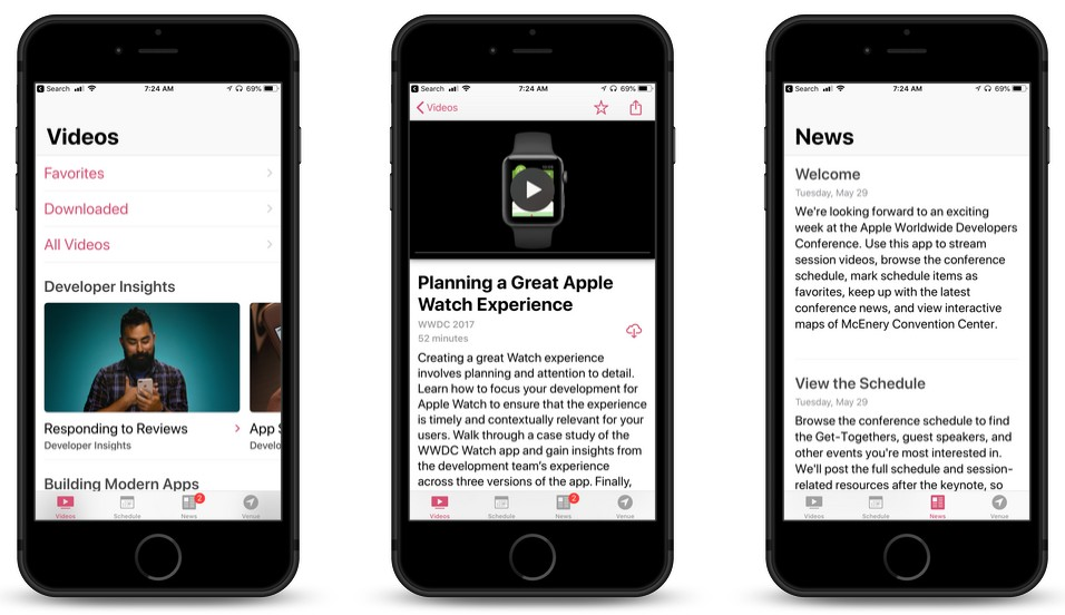 Can't Make WWDC 2018? Apple's Updated WWDC App Will Help You Stay Informed