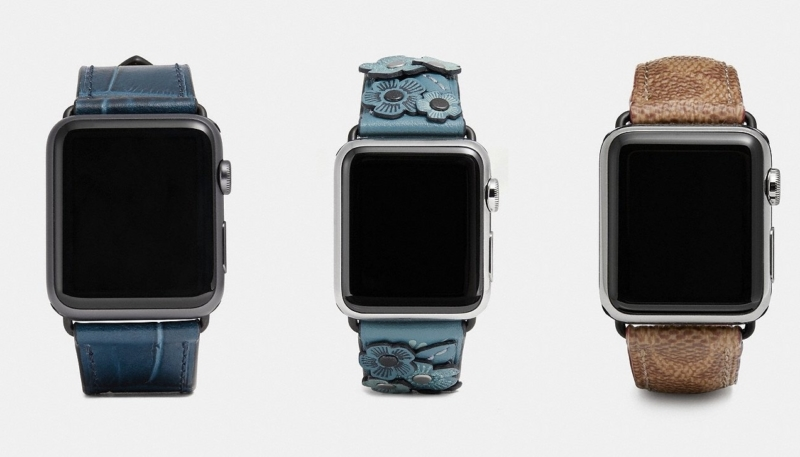 Coach Releases New Fashion Bands for Apple Watch