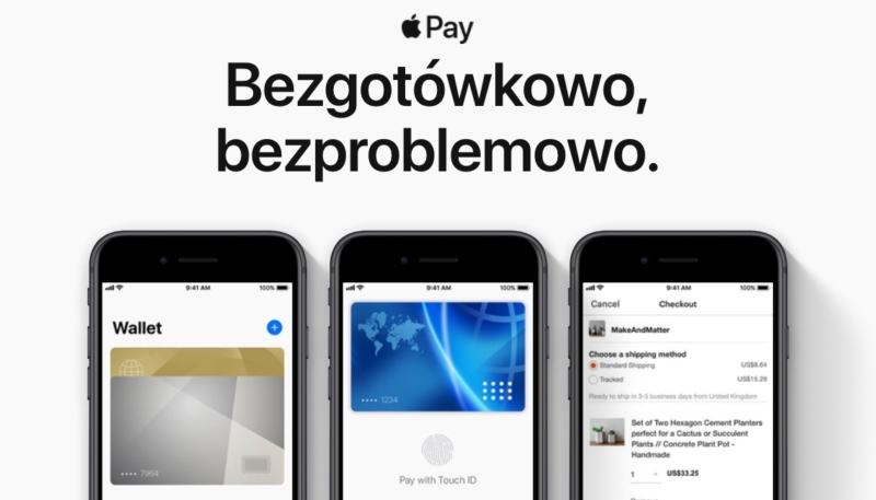 Apple Pay Rolls Out to Poland – Adds Support for 8 Banks