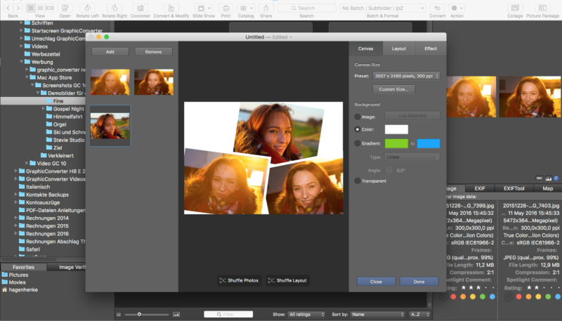 Popular Mac Image Utility GraphicConverter 10.6.1 Adds New Batch Features