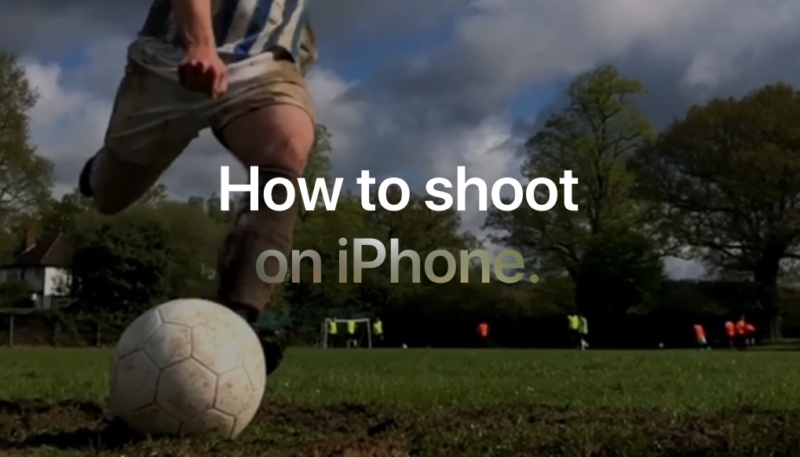 Apple's New iPhone X Photography Tutorial Videos All Share a 'Football' Theme in Honor of World Cup