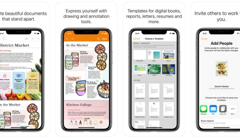 Apple Updates iWork Apps on Mac and iOS
