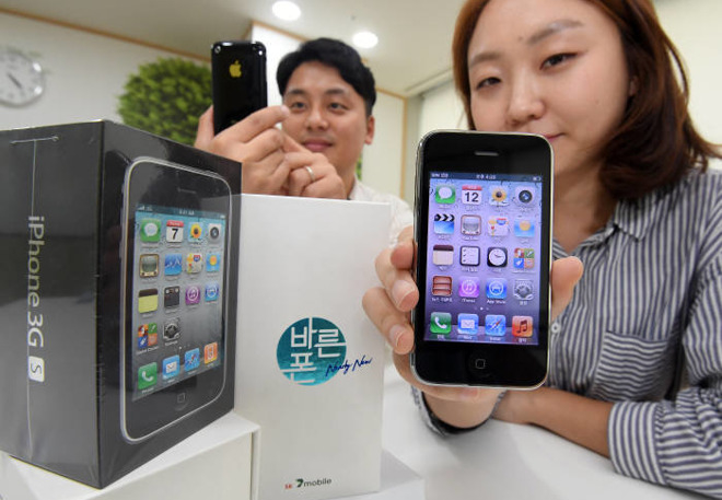 """South Korean Wireless Carrier SK Telink to Sell """"New"""" iPhone 3GS Handsets to Customers"""
