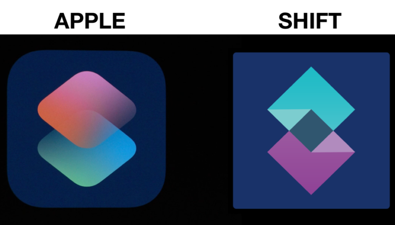 Tech Startup Shift Seeks $200,000 from Apple Over 'Stolen' iOS 12 Shortcuts Icon