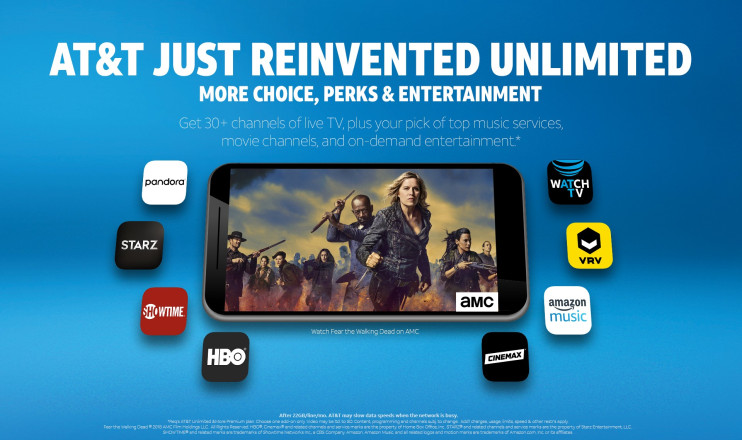 AT&T to Bundle New 'WatchTV' Video Streaming Service With Unlimited Wireless Plans