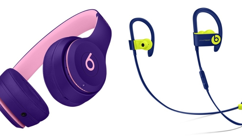 "Beats Solo3 and Powerbeats3 Wireless Headphones Now Available in New ""Pop"" Color Schemes"