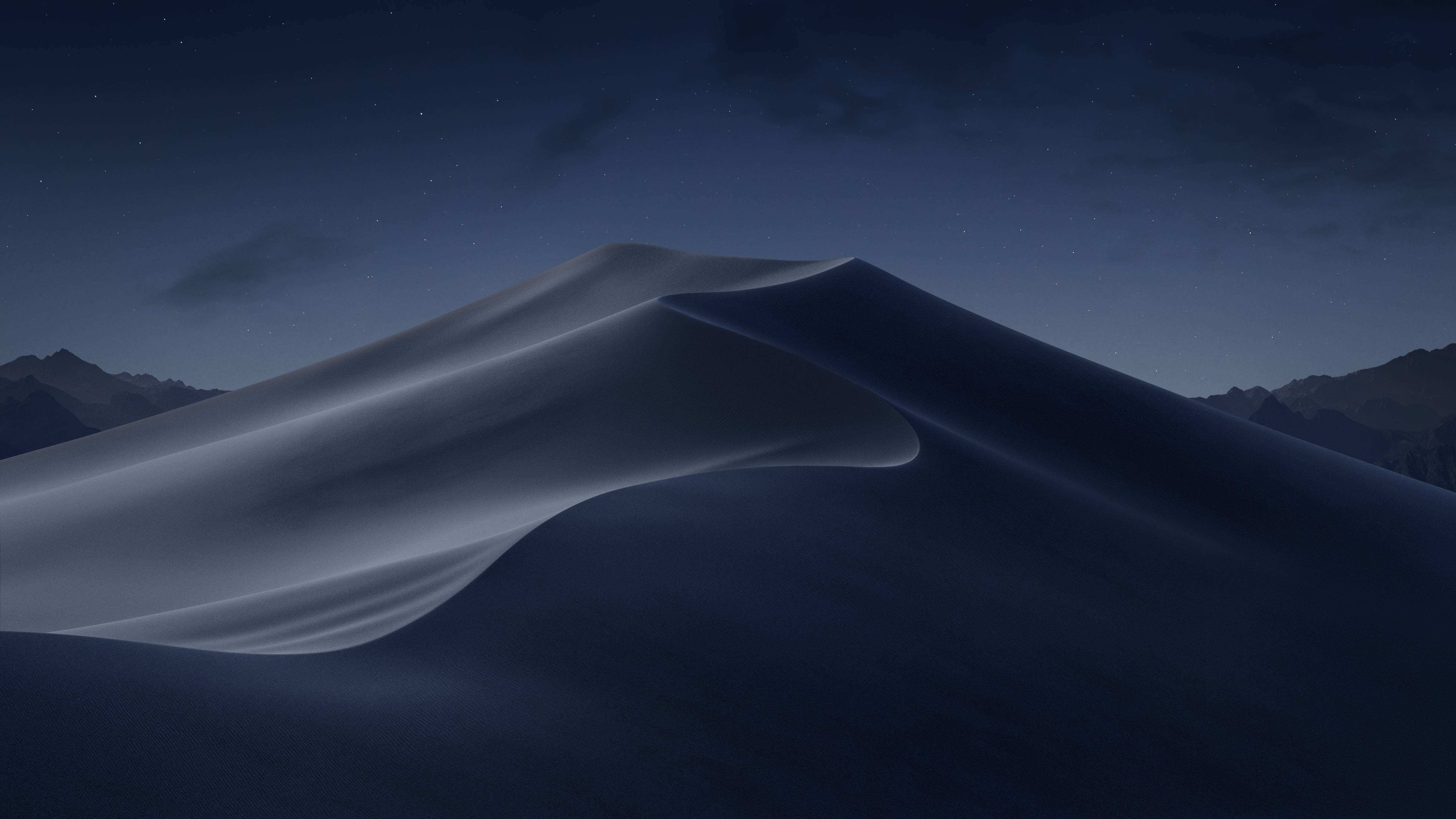macOS Mojave Night Desert