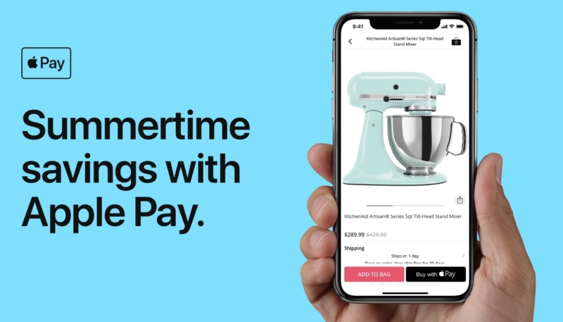 Apple Pay 'Summertime Savings' Promo Offers Discounts on Purchases From Groupon, StubHub, Others
