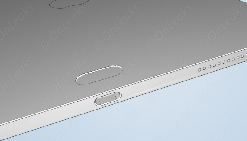 Alleged CAD image of upcoming iPad Pro hints at possible changes