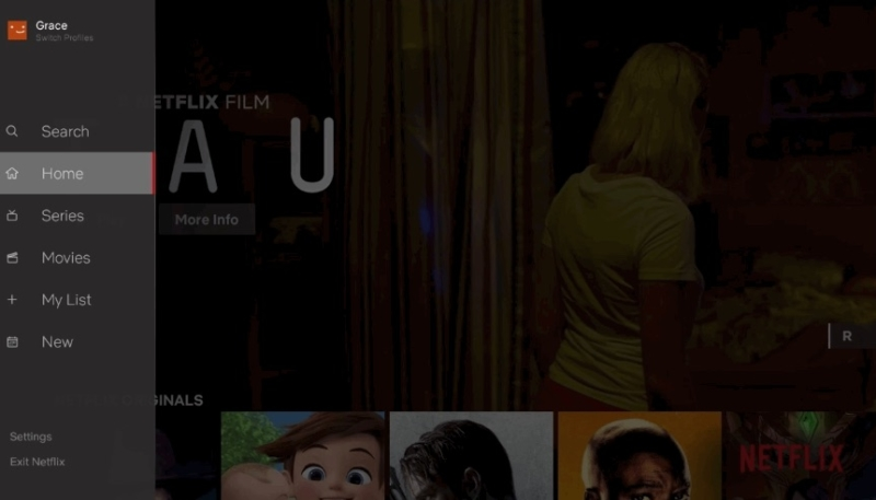 Netflix Previews Overhauled 'TV Apps' Navigation Interface