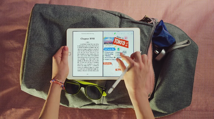 New iPad Ads Illustrate Multiple Uses for New 9.7-inch iPad