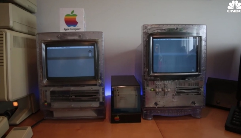 CNBC Report Features World's Largest Collection of Apple Prototypes
