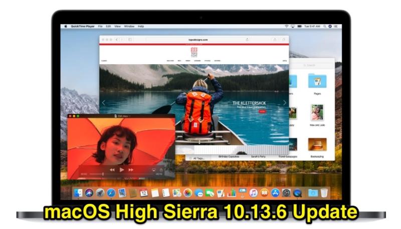 macOS High Sierra 10 13 6 Update With AirPlay 2 Multi-Room