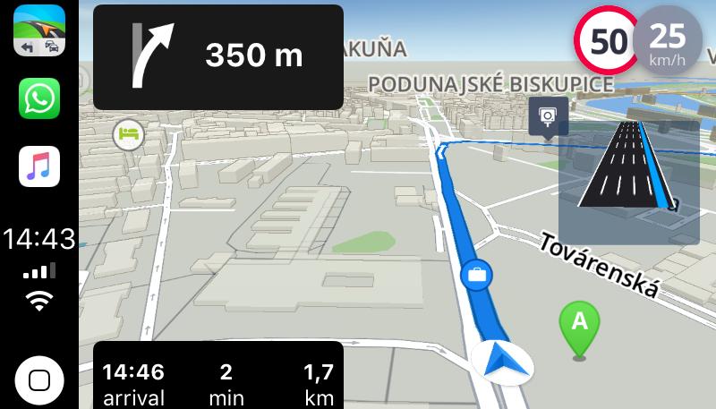 Sygic Maps App Teases iOS 12 CarPlay Integration