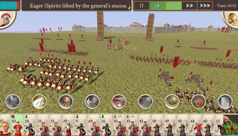 Feral Interactive Announces 'Rome: Total War' Coming to iPhone on August 23