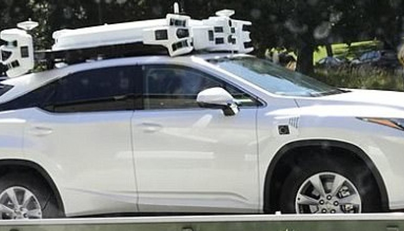 Apple Racks Up It's First Self-Driving Vehicle Accident