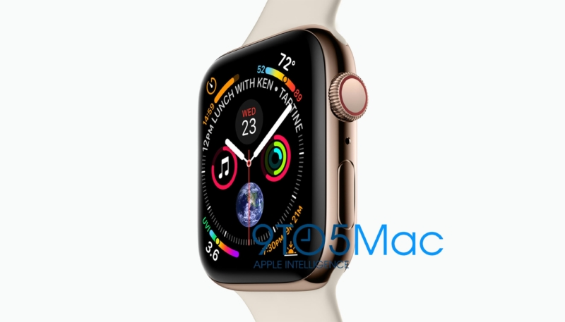 Leaked Images of Apple Watch Series 4 Models Shows Larger Display, New Watch Face