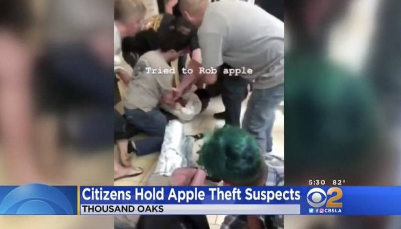Band of Apple Store Thieves Taken Down By Regular Customers