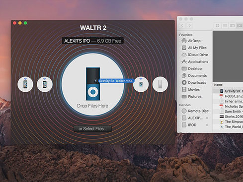 how to wirelessly transfer pdf to ibooks