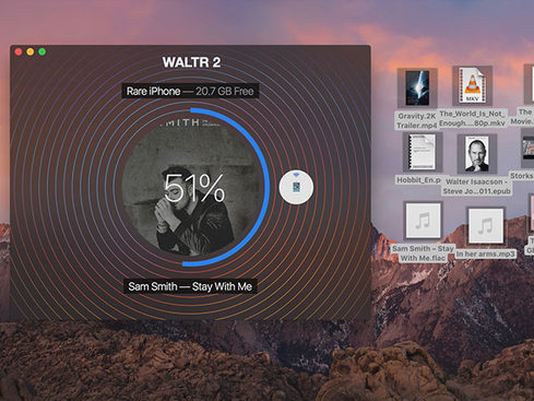 MacTrast Deals: WALTR 2 - Wirelessly Transfer Music, Videos, PDFs