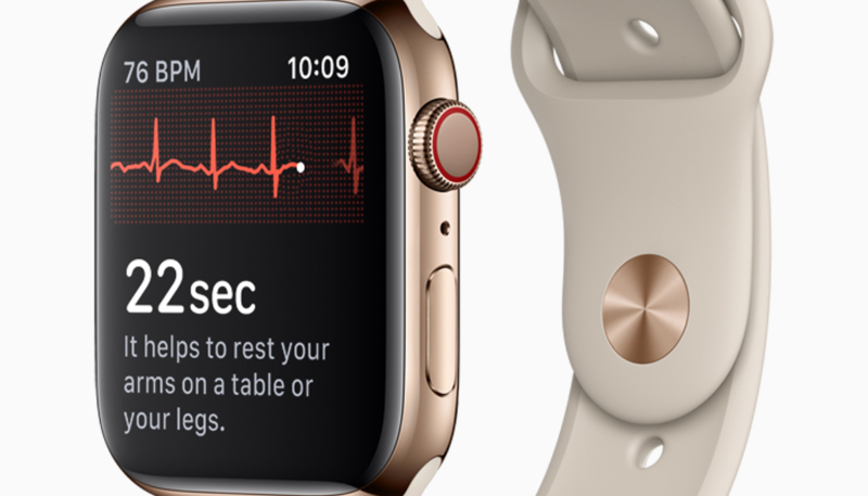 Data Collected by Apple Heart Study Used to Obtain Apple Watch Series 4 ECG Clearance from FDA