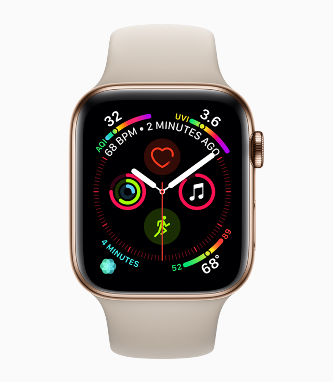 Apple Watch Series 4 Boasts Larger Display, Electrocardiogram and Fall Detection