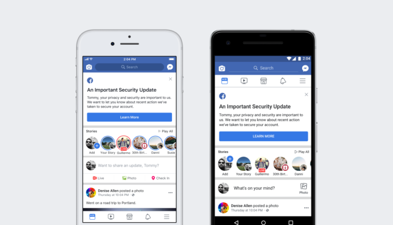 Facebook Reveals Security Issue Affecting Over 50 Million Users