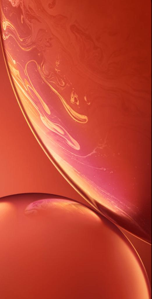 iphone_xr_orange_wallpapers