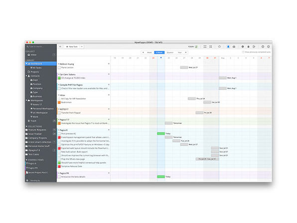 MacTrast Deals: Pagico 8 - The Elite Task Manager Is Even More Flexible & Powerful Than Before