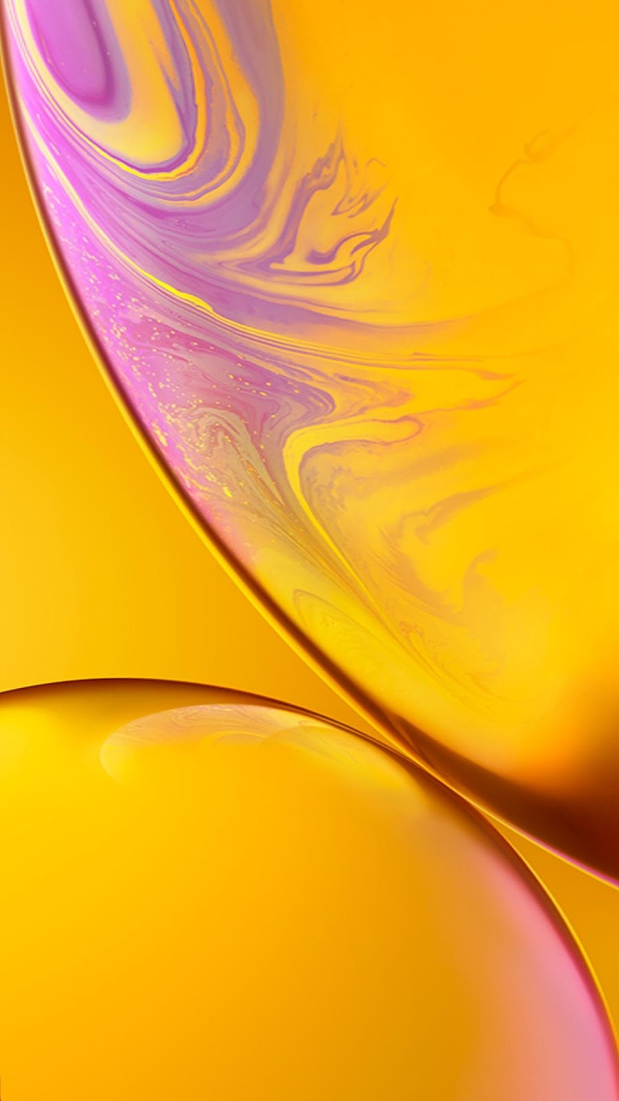 Iphone Xr Wallpaper Yellow Mactrast