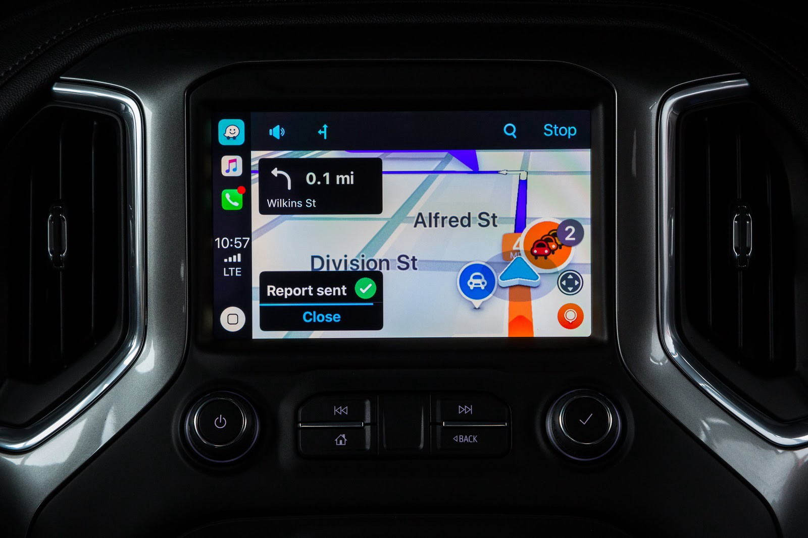 waze now offers apple carplay compatibility in ios 12. Black Bedroom Furniture Sets. Home Design Ideas