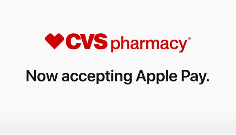 Apple Pay Now Available as Payment Option at CVS Pharmacy