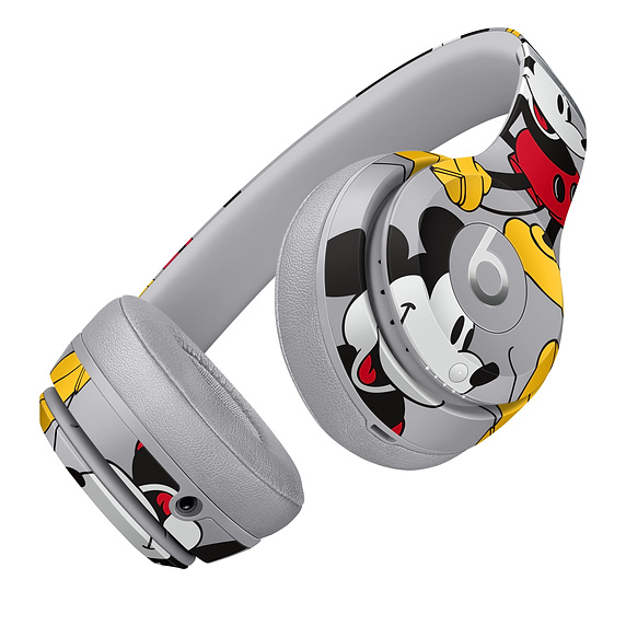 Apple Celebrates Mickey Mouse's 90th Birthday With Special Edition Mickey-Themed Beats Solo 3 Wireless Headphones