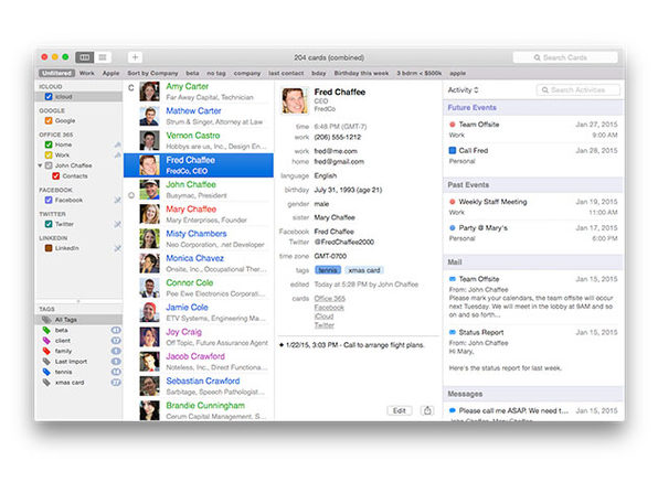 MacTrast Deals: BusyContacts: The App That Creates, Finds & Manages Your Contacts So You Never Forget a Name