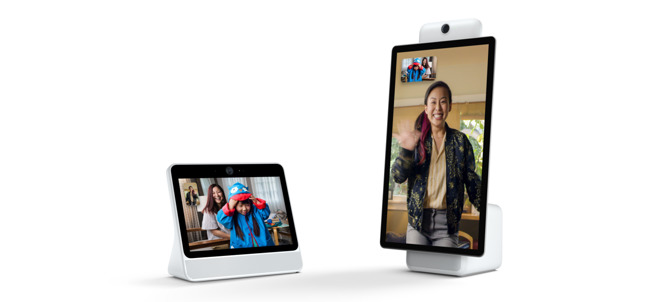 Facebook Debuts 'Portal' Video Calling/Smart Assistant Devices