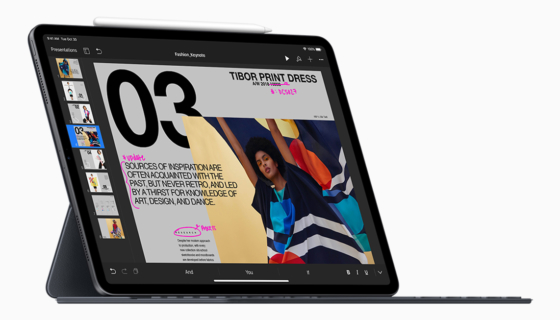 Apple Unveils New 11-inch and 12.9-inch iPad Pro Models