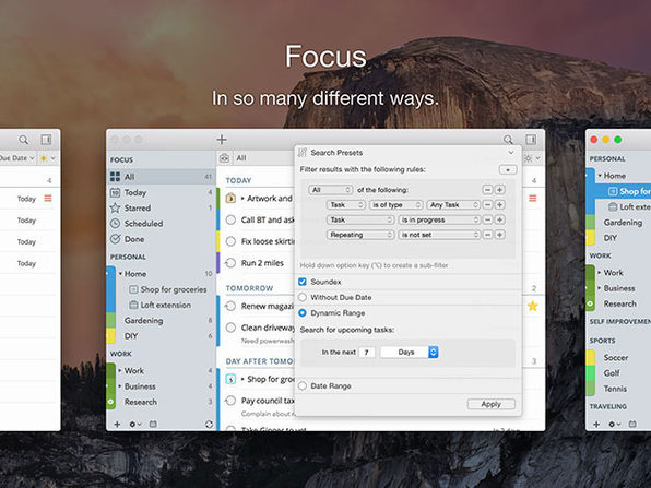 MacTrast Deals: Keep on Top of Your Tasks With 2Do Task Manager