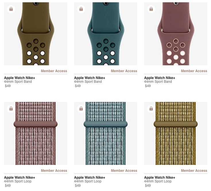 Nike Debuts New Apple Watch Sport Bands and Sport Loops in Olive, Mauve, & Teal