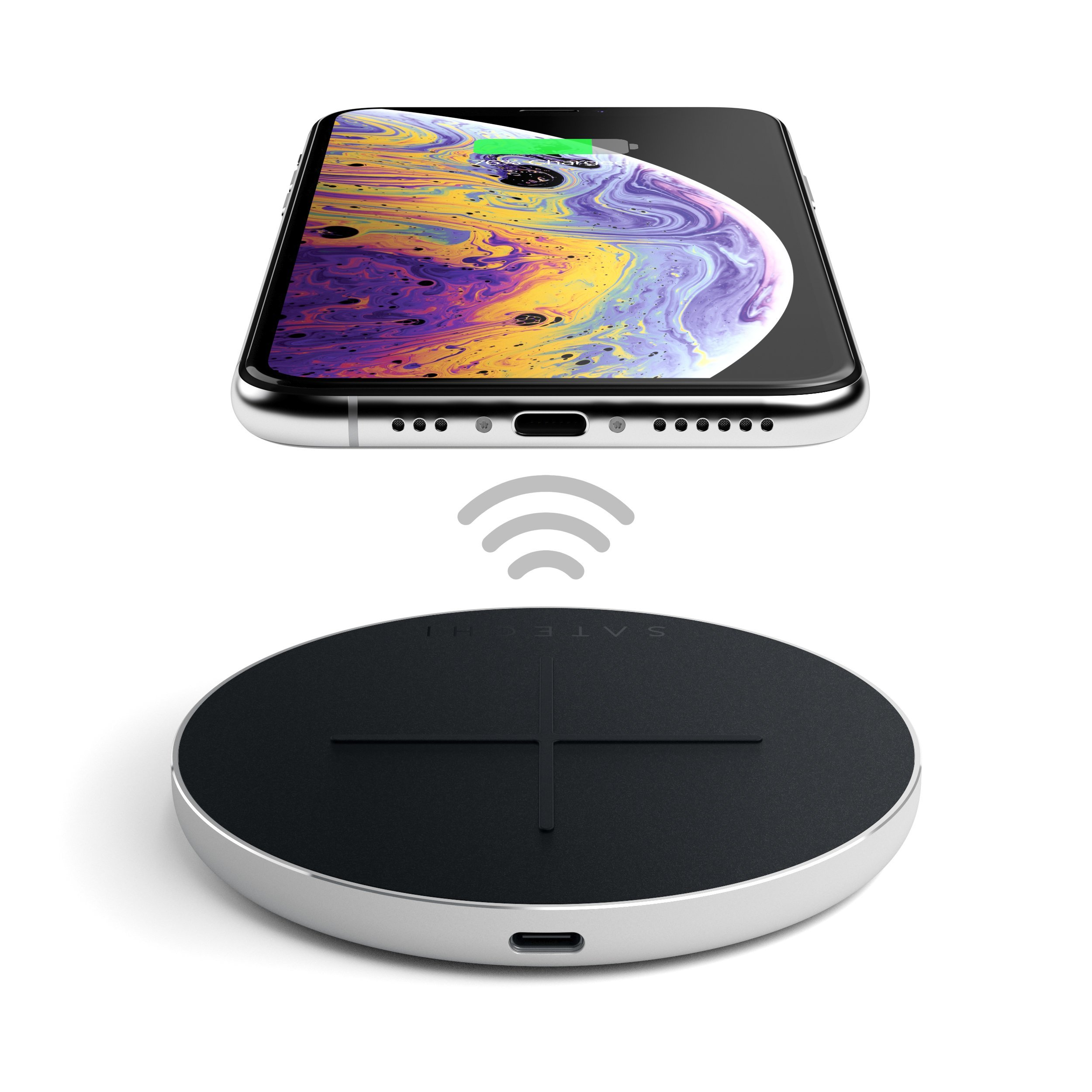 Satechi Debuts New Qi-Certified Aluminum Type-C Fast Wireless Charger for iPhone and Android