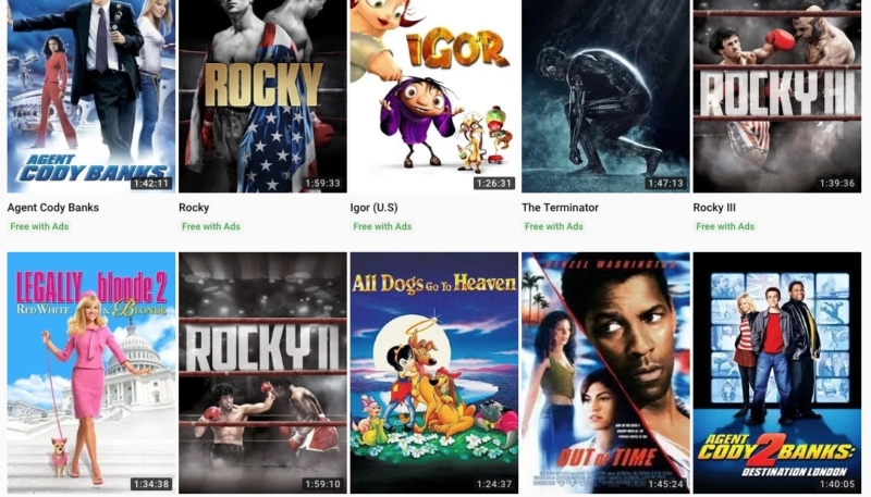 YouTube Free Movies (100% Legal) Now Available (You'll Have to Watch Ads)