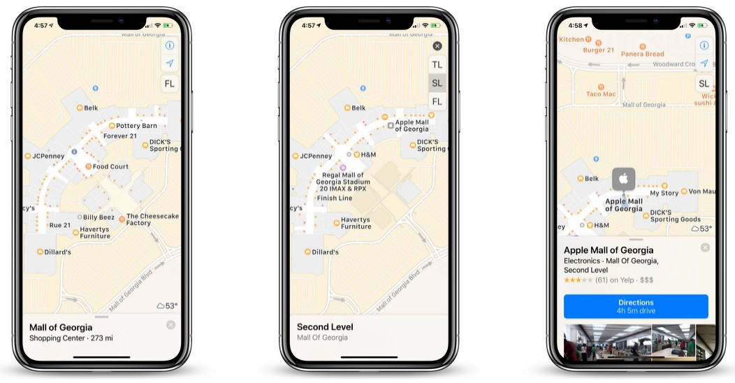 Apple Maps Adds Indoor Maps for New Malls and Airports Around the Globe