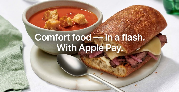 Get $2 Off Your Next Panera Bread Order When You Pay With Apple Pay