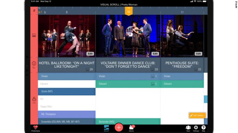 Broadway and Film Productions Turning to iPad and ProductionPro App to Cut Down on Waste