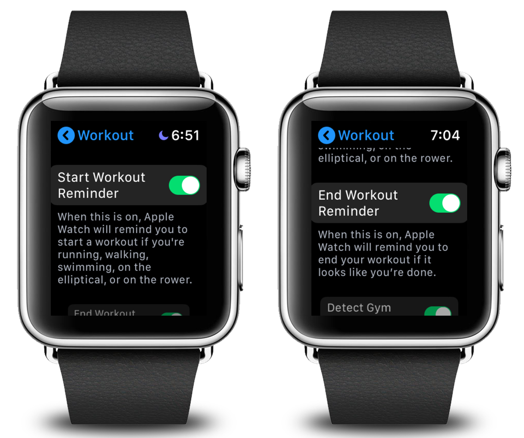 How to Enable or Disable Automatic Workout Detection on the Apple Watch
