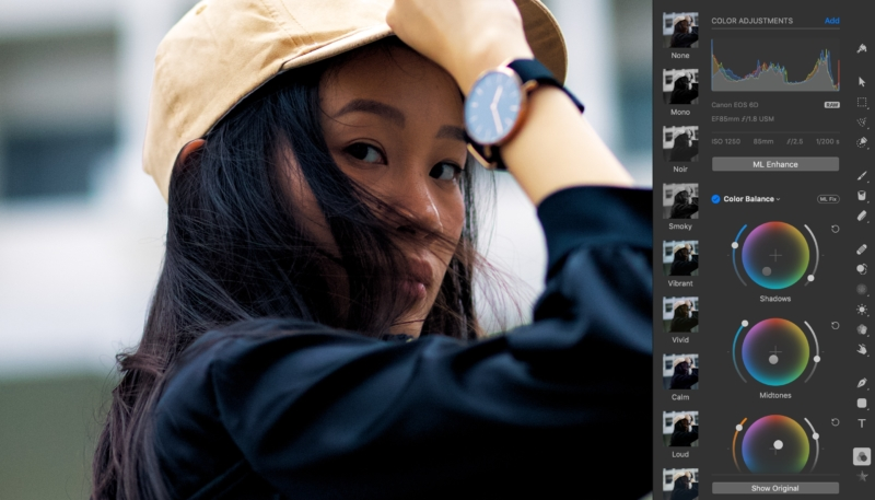 Pixelmator Pro 1.2.4 Update for the Mac Brings Professional Color Grading Tool, More