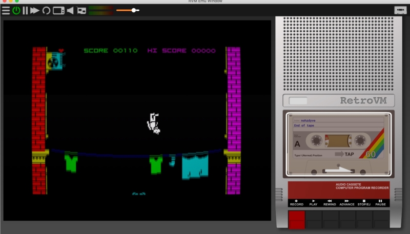 How To Play the Black Mirror: Bandersnatch 'Nohzdyve ' ZX Spectrum Game on Your Mac