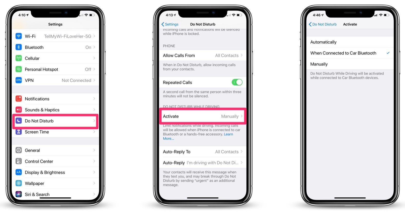 How to Turn on Do Not Disturb While Driving with iOS 11 & iOS 12 on iPhone