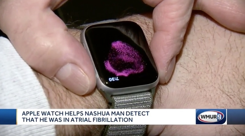 Man Says Apple Watch Series 4 ECG Feature Detected His AFib, Saving His Life