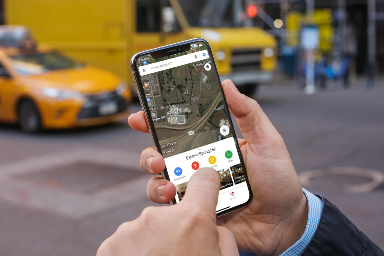 Google Maps Voice-activated
